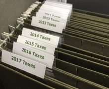 Personal filing: How long to keep tax records.