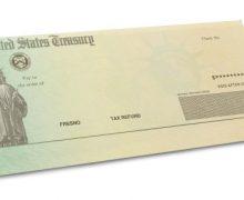 US Treasury Check